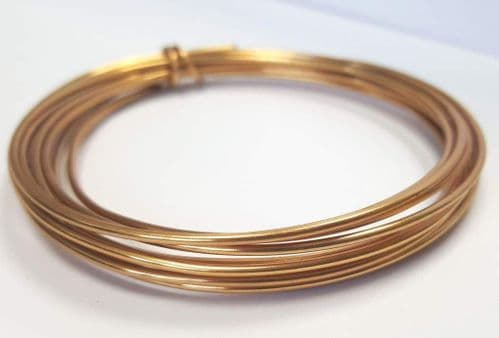 1.5mm x 3m wire - Gold
